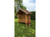 Ex Display Bench Hut Summer House