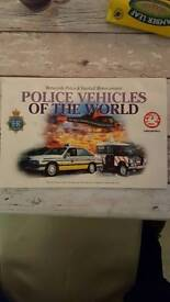 Complete Police vehicles of the world collectors book