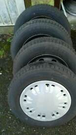 13 inch tyres.