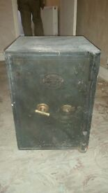 Jacob cartwright and son antique safe, over 100 years old