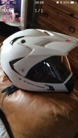Frank Thomas / motor bike helmet