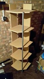 Side shelving unit
