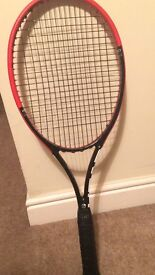 Selling tennis rackets