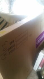 Single day bed frame only brand new in packaging from bensons for beds