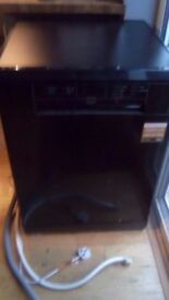 Nearly new Bush DWFSG126B standalone dishwasher, Which? Best Buy. Excellent condition.
