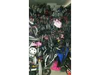 Job lot of 10 pushchairs/strollers from airport lost property..ideal carboot/trader/ebayer