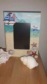 Beach wooden box (book shape)