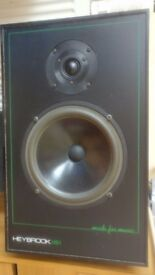 PAIR OF HEYBROOK HB1 with NEW WOOFERS VIFA M21 WG-09-08 excellent condition