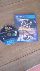 Back to the Future PS4 Game