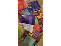 Vollection of 11 Social work text books