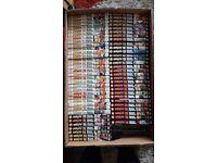 Naruto Anime books volumes 1-61