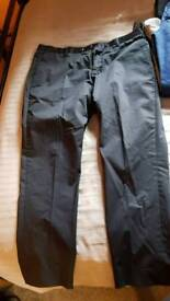 Matinique Navy Chino Style Trousers