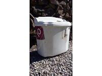 White Porcelain Toilet Cistern (Plumbing/Bathroom)
