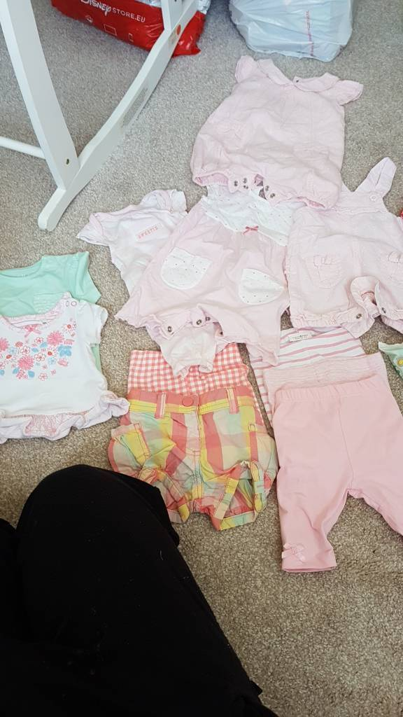 First size and new born summer clothes bundle