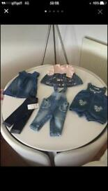 0-3 month denim bundle