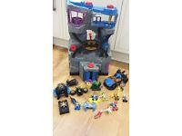 Imaginext - Batman Bundle - Batcave, Batmobile, Batcycle & more