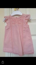 Designer baby girl dress 0-3m