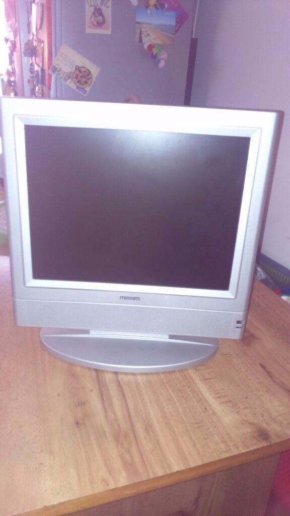 19inch Tv Silver Frame