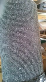 CHARCOAL-GREY OFFICE CHORD CARPET (STRONG) £10 or £25