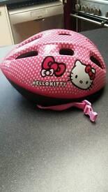 Hello Kitty cycle helmet