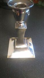 Single Silver Candlestick