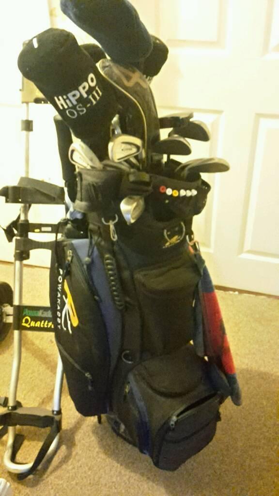 Golf clubs callaway powa kaddy ping Taylormade