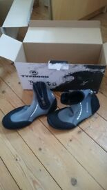 Typhoon wetsuit sailing boots - WITH ZIPS!