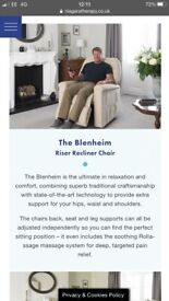 The Blenheim riser recliner chair