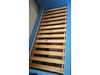 Single bed frame for a Quick sale at a BARGAIN PRICE