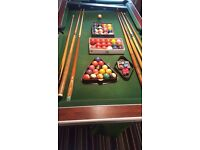 7 foot slate bed superleaugue pool table for sale