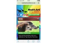 Noah's Ark tickets