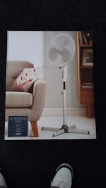 """Fan 16"""" rotating floor standing new in box £15"""