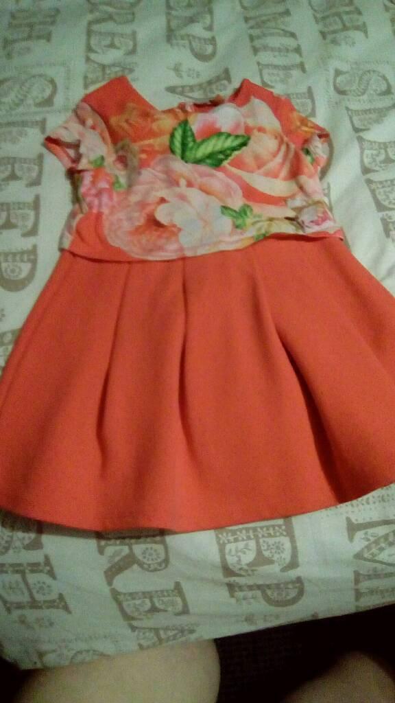 Girls ted baker dress x