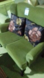 sofa two seater wooden legs