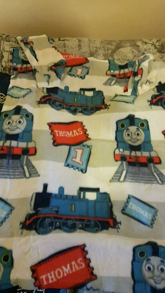 Thomas blanket with arms