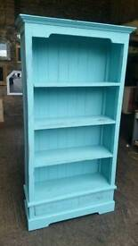 Solid Wood Shabby Chic Bookcase