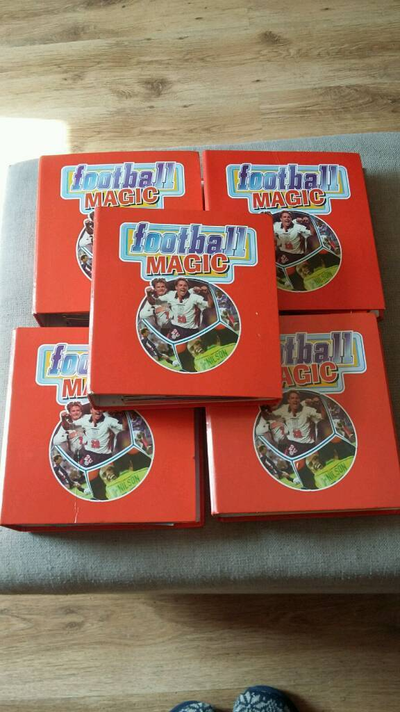 Football Magic Collectionin Norwich, NorfolkGumtree - Football Magic was published in 1999 and this is a fully complete collection. It has four folders on 33 top UK teams with lots of photos and information. Has an additional fifth folder with pages on 16 international football teams showing lots of...