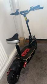 Viper Blade 2000W 60V, Electric Scooter - Black