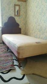 Authentic Victorian Bed + Staples Knightsbridge Divan and