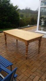 Farm house style table