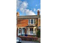 Lovely, light double room in professional house share very close to city centre Oct 2016-May 2017