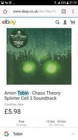 Cds Splinter cell chaos theory cd