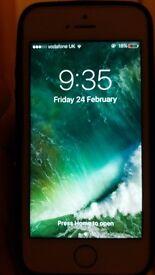 Iphone 5s 16gb on vodafone