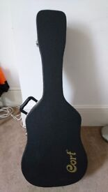 Electro Acoustic Guitar with Hard Case