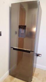 Samsung stainless steel fridge freezer