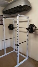 Olympic Weight Lifting Power Cage
