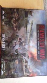 Flames of War game, rule book and 2 additional units