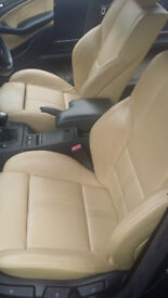 BMW 3 Series 2.2 320i Sport 4dr Cream Leather Seats