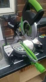 Evolution fury 3 210mm sliding chop saw