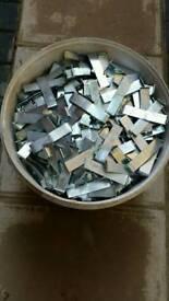 Solid wood floor clips